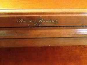 Rudolph Wurlitzer Upright Piano Canton Ms For Sale In