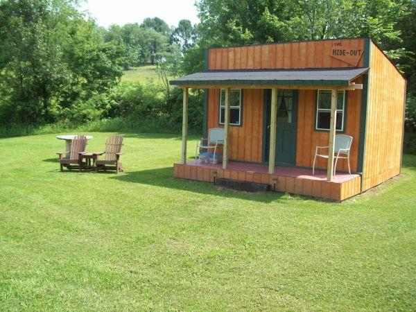 Rustic cabins tent camping holmes county oh for sale for Camp gioia ohio cabine