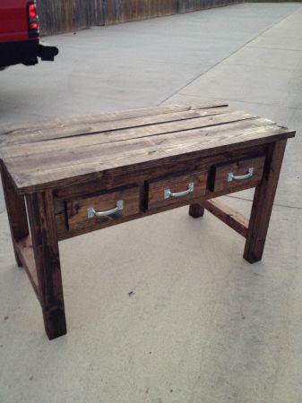 Rustic Entry/Couch Table - $180 (College Station)