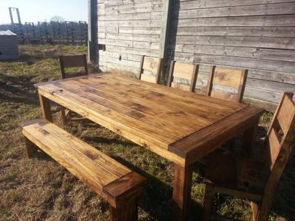 Rustic Farm Style Furniture Custom Solid Wood