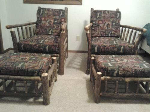 rustic furniture 12 pc set by old hickory in shelbyville
