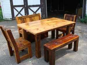Rustic Handmade Barnwood Furniture Baraboo For In Madison Wisconsin