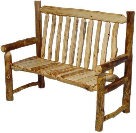 {>> Rustic Log Furniture <<} - $1