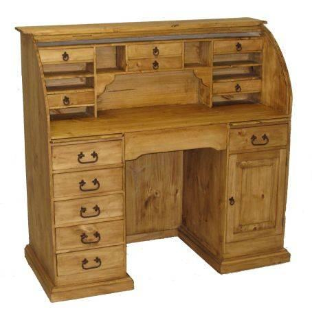 Rustic Roll Top Desk For Sale In Connor Rhode Island