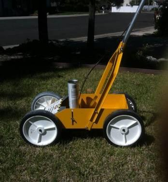used parking lot striping machine for sale