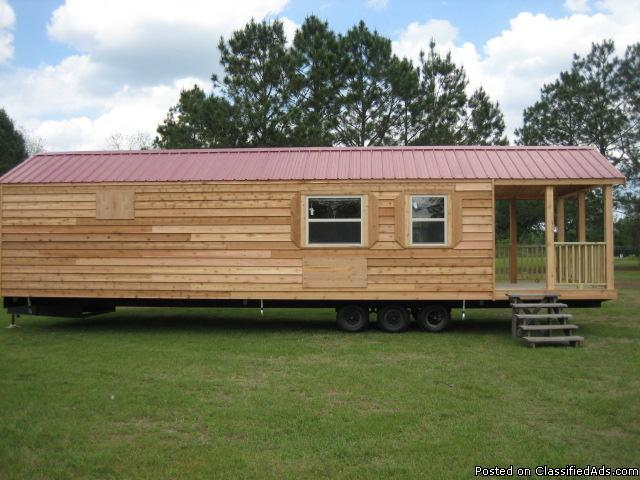 Rv Alternative Rustic Cabin On Wheels For Sale In