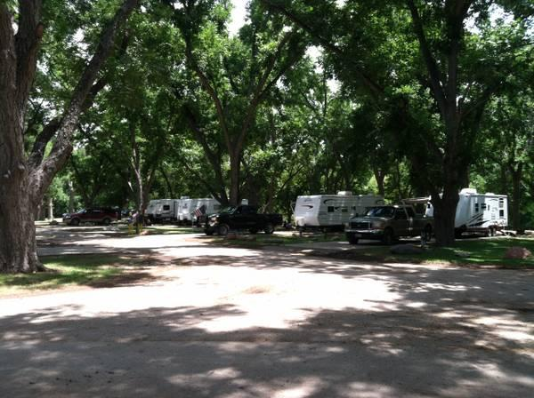 RV Sites on the San Marcos River