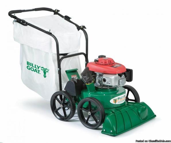 Ryan Billy Goat Leaf Vacuum Machine