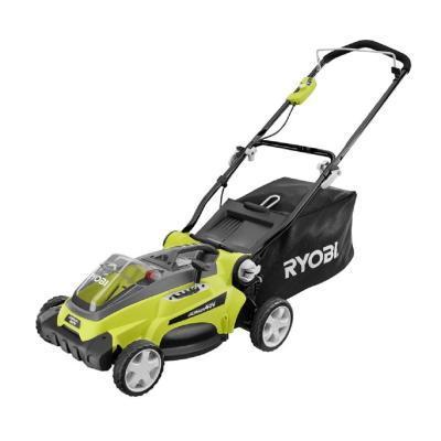 Ryobi 16 In 40 Volt Cordless Walk Behind Lawn Mower