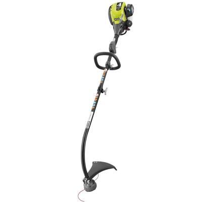 Ryobi 4-Cycle 30 cc Curved Shaft Gas Trimmer