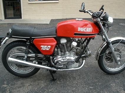 ryth~~*~*~*1972 Ducati 750 GT Roundcase Great