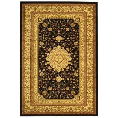 Safavieh Lyndhurst Black/Ivory 6 ft. x 9 ft. Area Rug