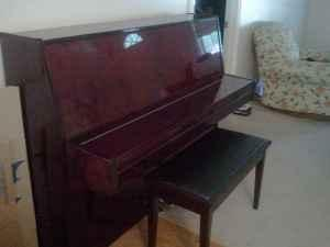 Sagenhaft Console Piano Springfield For Sale In