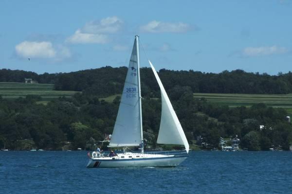 yacht lancer diagram sailboat sail boat 36' lancer - for sale in skaneateles ... yacht bonding diagram