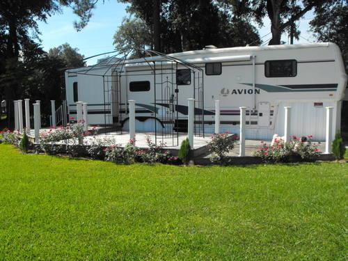 SALE FLORIDA-1998 37.5u0026#39; FLEETWOOD AVION 5TH WHEEL W LOT ...