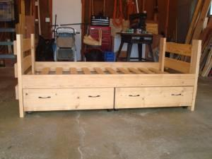 Sale on Captains Beds - $300 (Mankato)