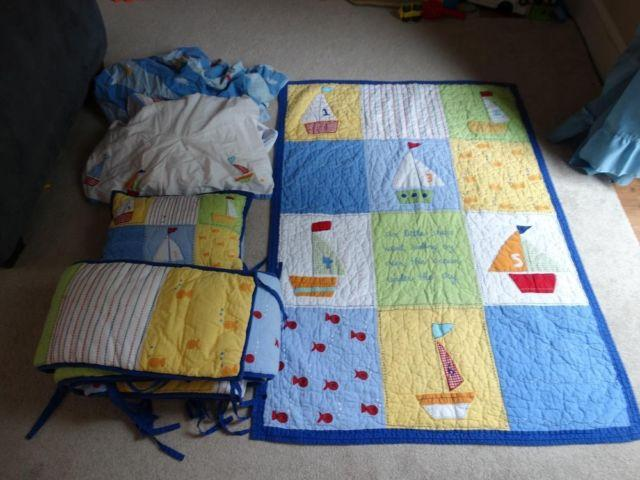 Sale Or Trades Pottery Barn Crib Or Toddler Bed Set For