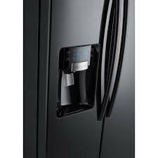 Sale Samsung 26 Cu Side-by-Side Refrigerator RS261MDBP BLACK - $750