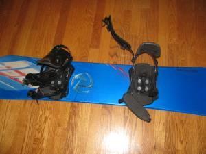 salomon classic 144 snowboard with salomon size 95