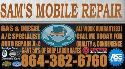 SAM'S MOBILE AUTO REPAIR