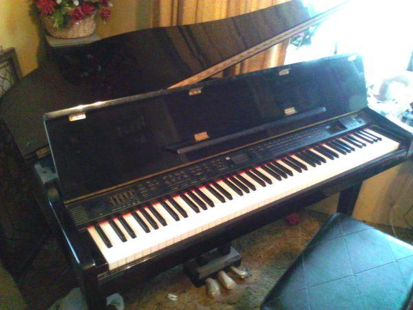 Samick digital baby grand piano sxp511 tulsa for sale for How big is a baby grand piano