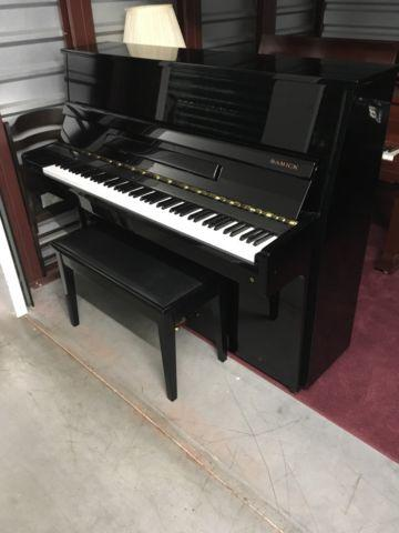 Samick studio upright piano