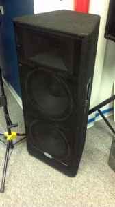 SAMSON PA Speaker 2x15