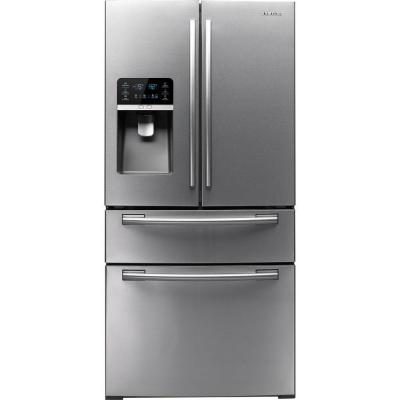 Samsung 33 In W 26 Cu Ft French Door Refrigerator In Stainless