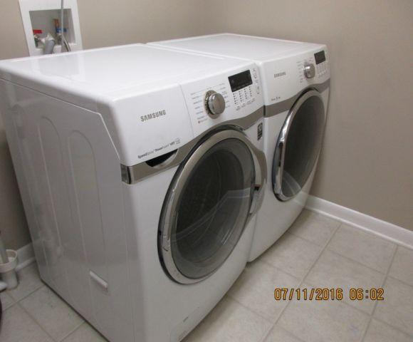Samsung Front Load Washer And Electric Dryer 2013 For Sale