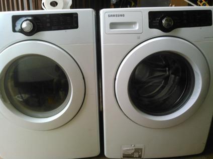 samsung front loader washer and dryer set
