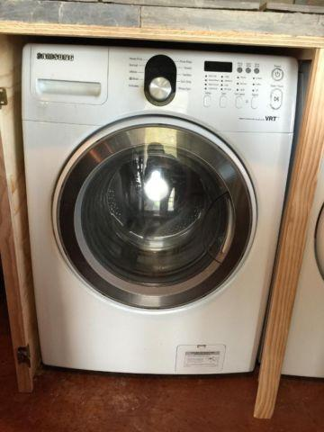 large front loader washing machine