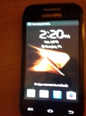 samsung galaxy rush - $40