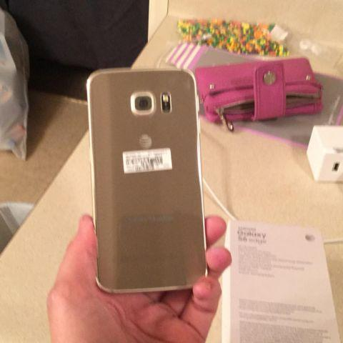 Samsung Galaxy S6 -64gb(gold) ATT network