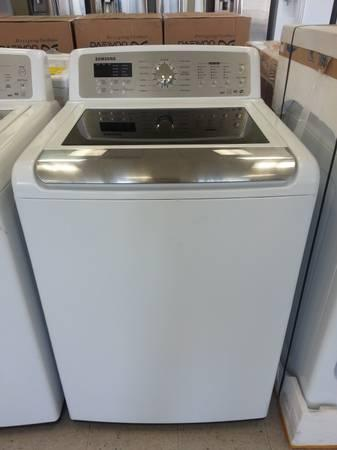 Samsung Large Capacity 4 Cu Top Load Washer Amp Dryer Combo