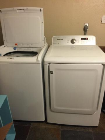 Samsung Large Capacity Washer Amp Dryer For Sale In San