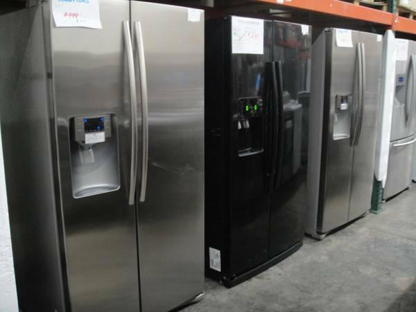 Samsung Refrigerator 18 33cu French Door Sideside Bottom Freezer