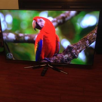 Samsung Tv Smart 55 INCH 3d 240 hz LED SUPER CLEAR PANEL UN55ES7100