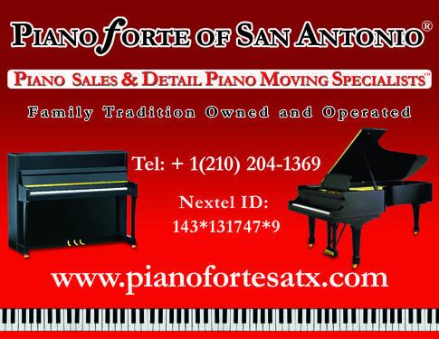 San Antonio Piano Movers Pianos For Sale Pianoforte Of
