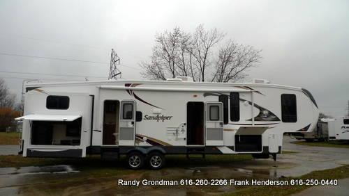 Sandpiper 365 SAQ Bunkhouse Fifth Wheel