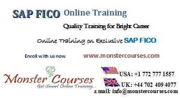 SAP FICO online training, financial and controlling