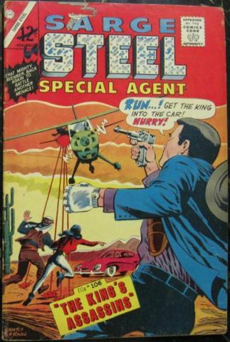 SARGE STEEL# 6 Nov 1965 2nd Judomaster Bill Montes