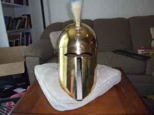 SCA Legal Custom Corinthian Helmet - (Provo) for Sale in Provo, Utah