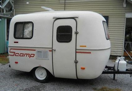 Scamp 13 Foot 1986 Fiberglass Camper