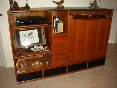 Scan Design Teak Entertainment Center for Sale in De Bary Florida