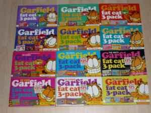 Scd Garfield Fat Cat 3 Pack Comic Books Vol 1 12 Vol 13 Free Oakland For Sale In Pittsburgh Pennsylvania Classified Americanlisted Com