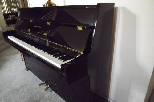 Schaffer And Sons Upright Piano Black For Sale In Bay