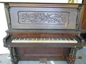 schulenberg upright piane - $300 (hartwell )