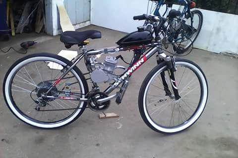 Schwinn 24 speed motor bike