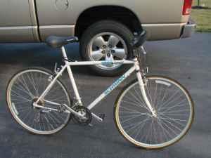 schwinn criss cross 21 speed hybrid bike - $75 (Haskins, OH)