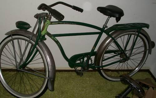 Schwinn Fat tire Panther classic springfork ballooner bicycle bike